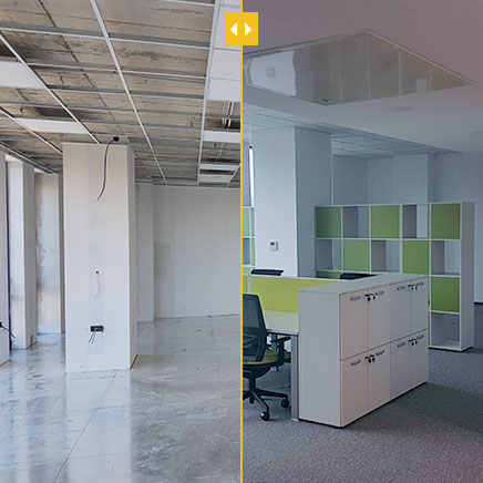 Finishing works for an office in Plovdiv